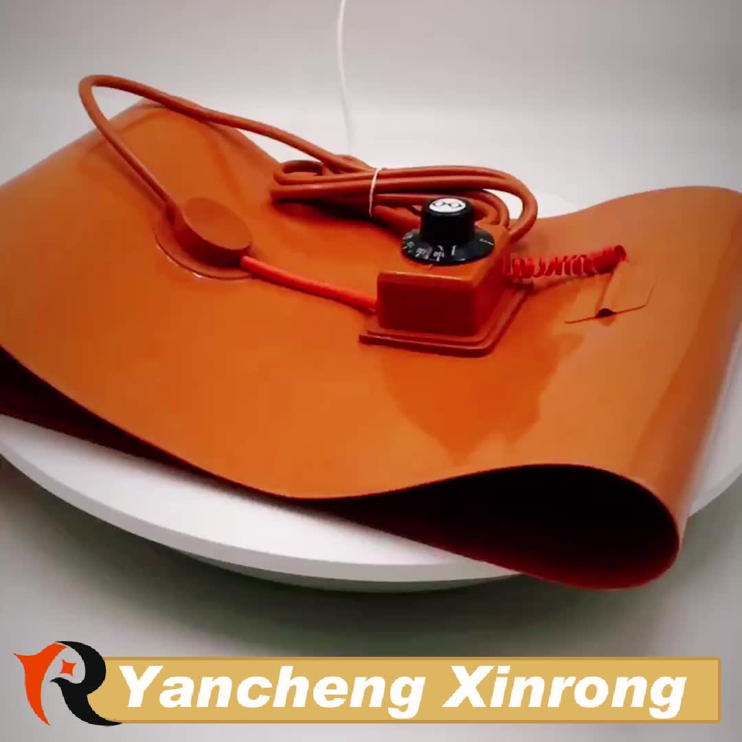 Flexible Silicone Pad Heater Oil Drum Heating Blanket
