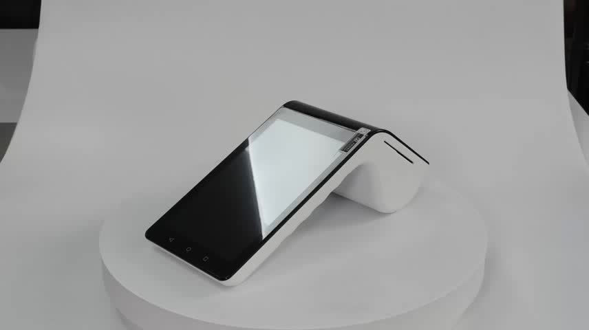 """Mobile Android Pos Portable Terminal Ts-7003 With Nfc Reader/7inch Tablet&3.5"""" Mini Customer Display/bluetooth"""
