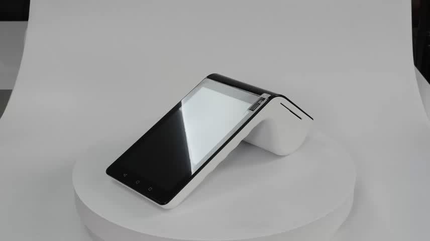 """携帯 Android の Pos 携帯端末と Ts-7003 Nfc リーダー/7 インチタブレット & 3.5 """"ミニカスタマディスプレイ/ bluetooth"""