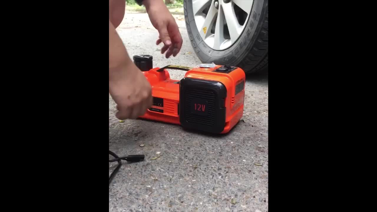 Vérins de levage de réservoir Jack de voiture électrique hydraulique cc 12V