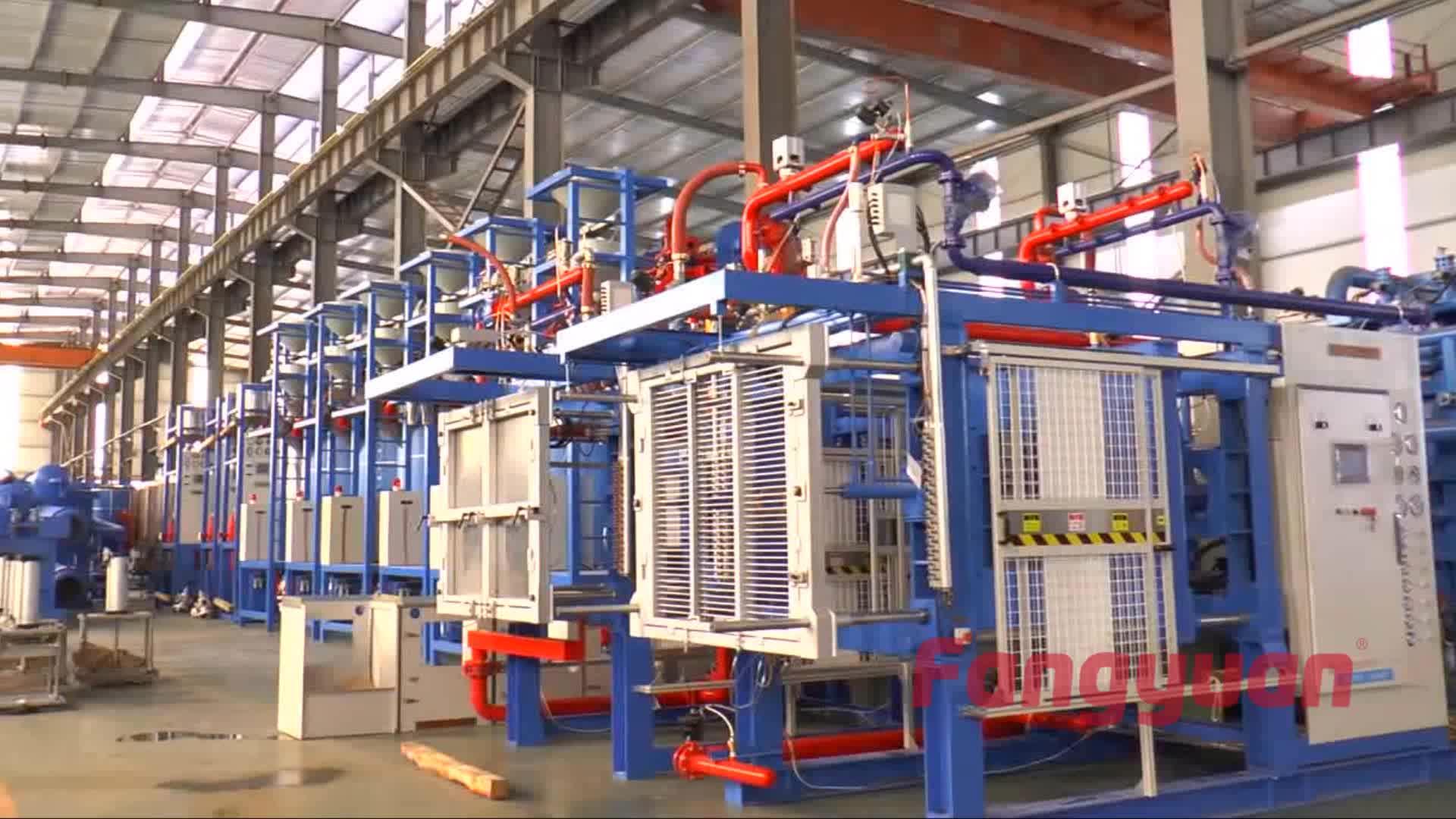 Fangyuan vollautomatische eps schaumbeton steinformmaschine