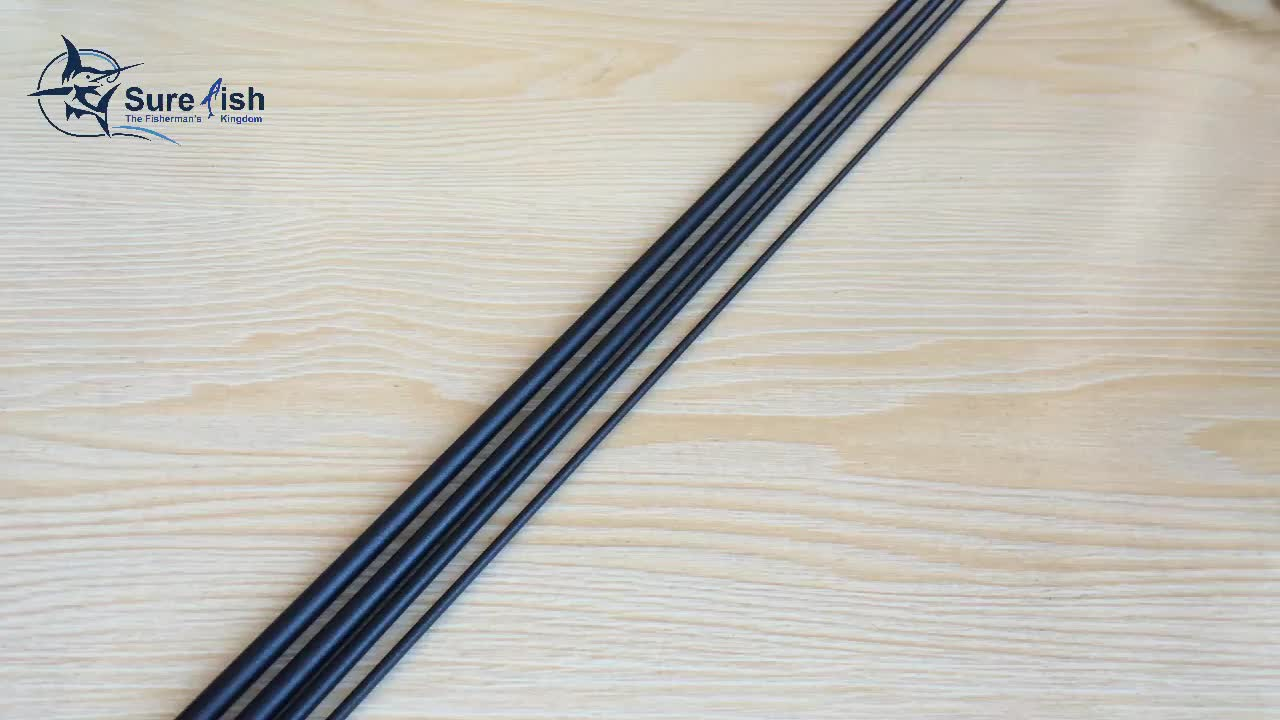 Wholesale helical core IM12 fly fishing rod blank