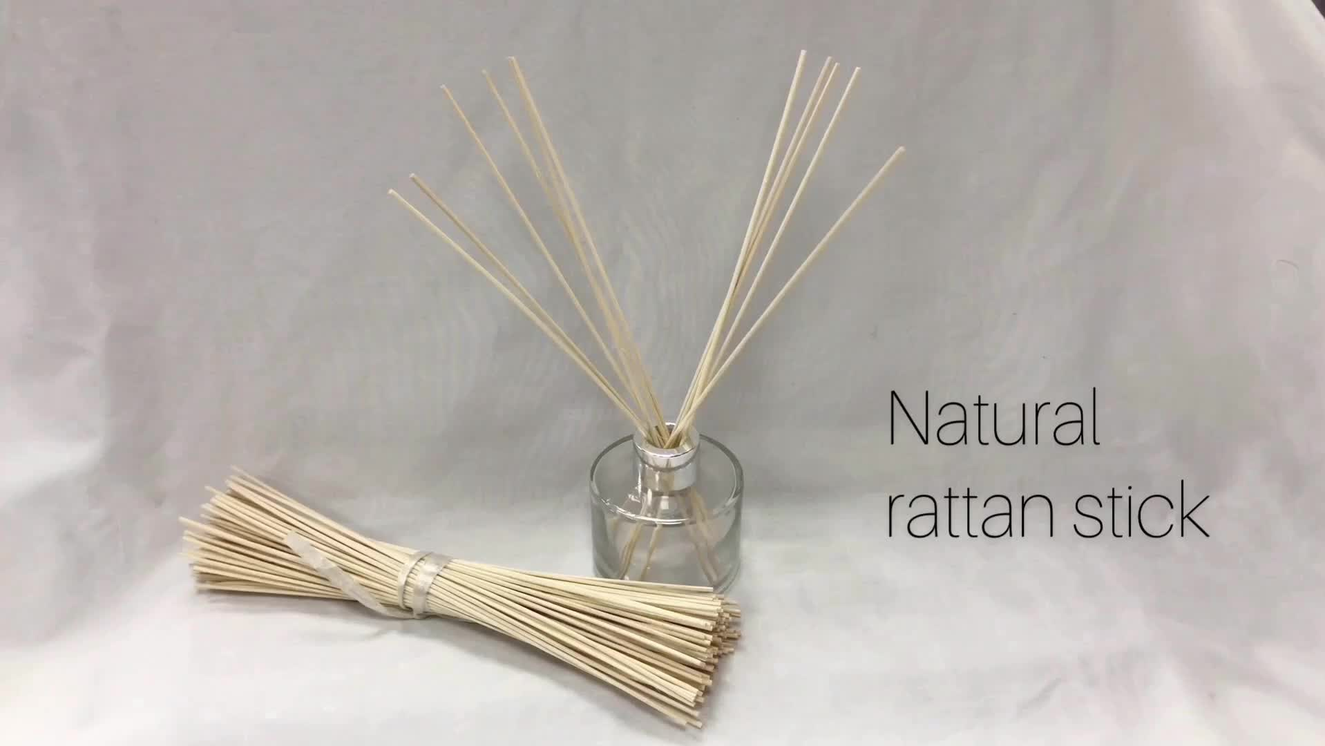 4mm India free samples natural round bamboo black decorative diffuser reed sticks for living room