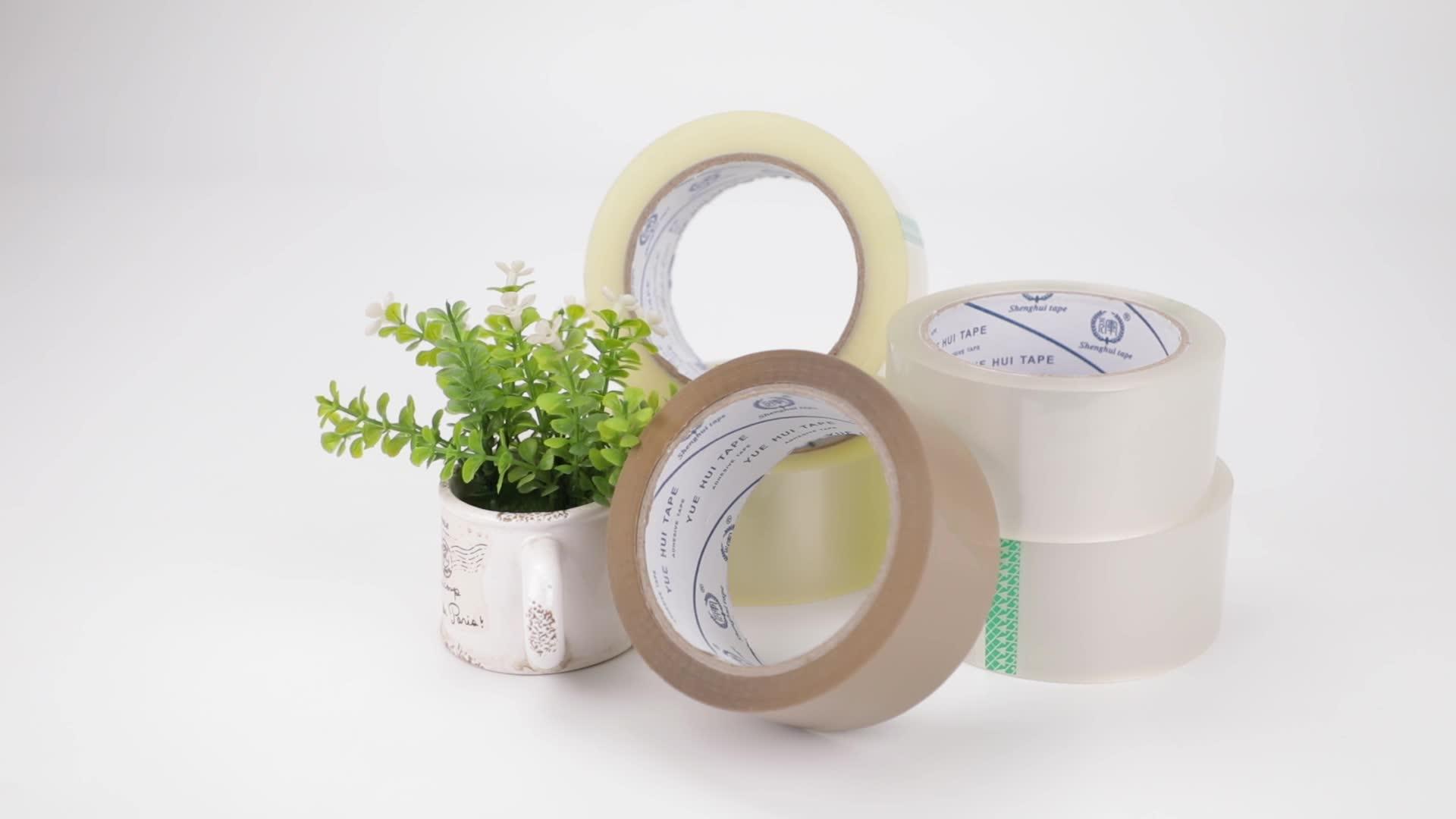 Water Acrylic Strong Adhesive Length Bulk Customized Box Tape