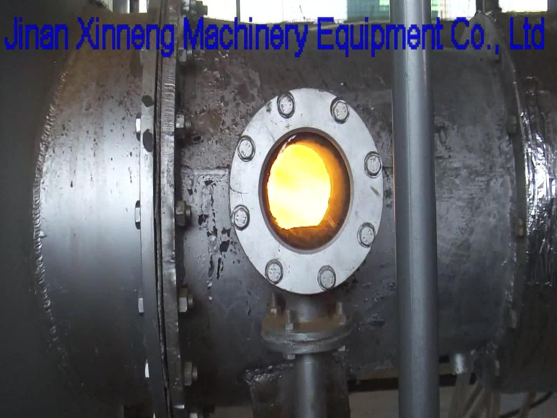 Briquete de biomassa Queimador/Máquina de Queima de Biomassa