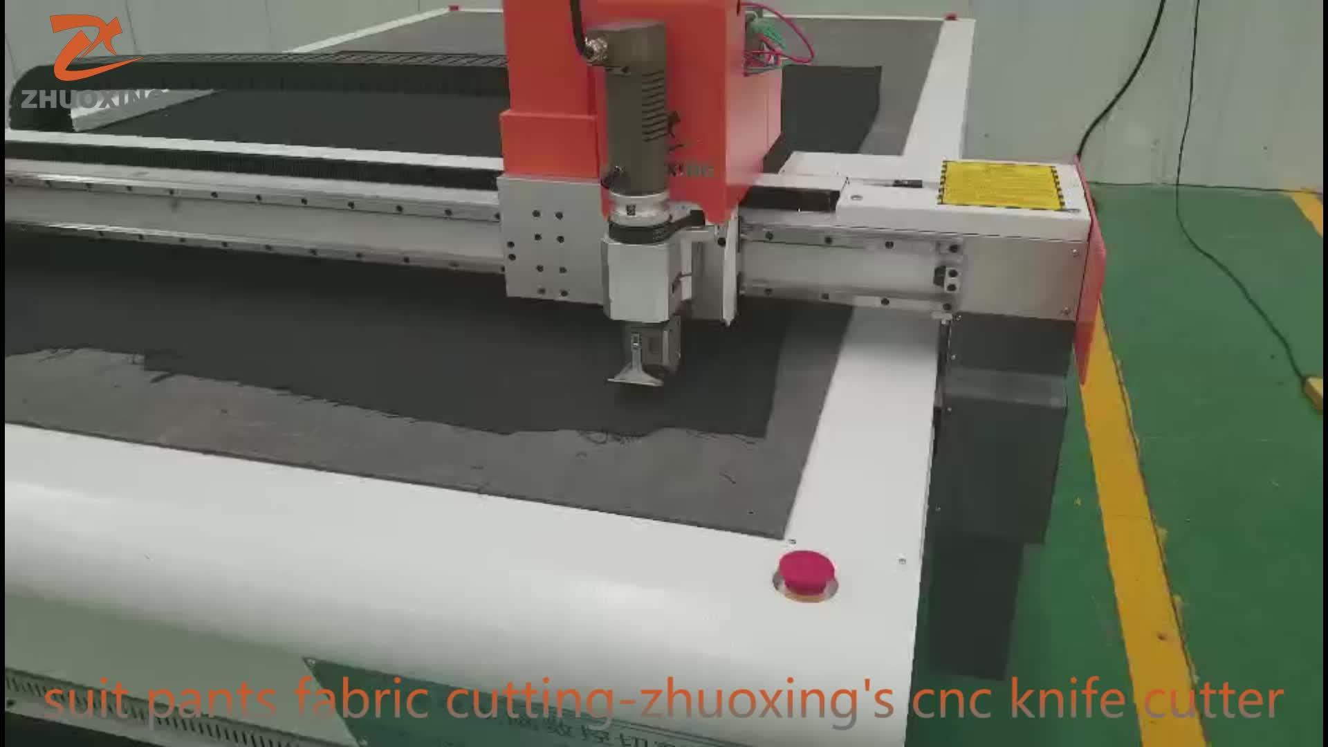 Top 100 Doek Snijmachine snijden tafel voor kleding in China