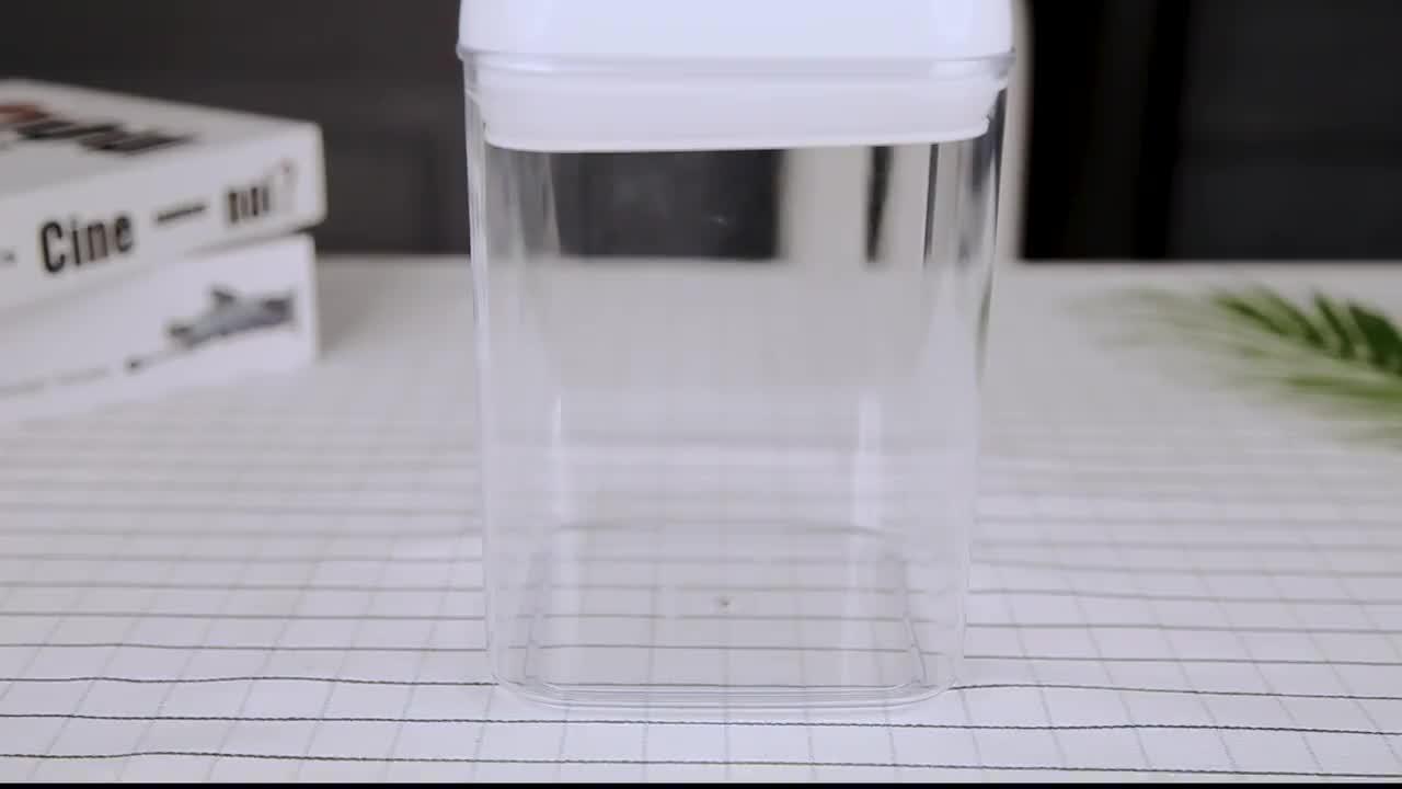 좋은 품질 맞춤형 친환경 밀폐 플라스틱 건조 식품 저장 용기 12pcs