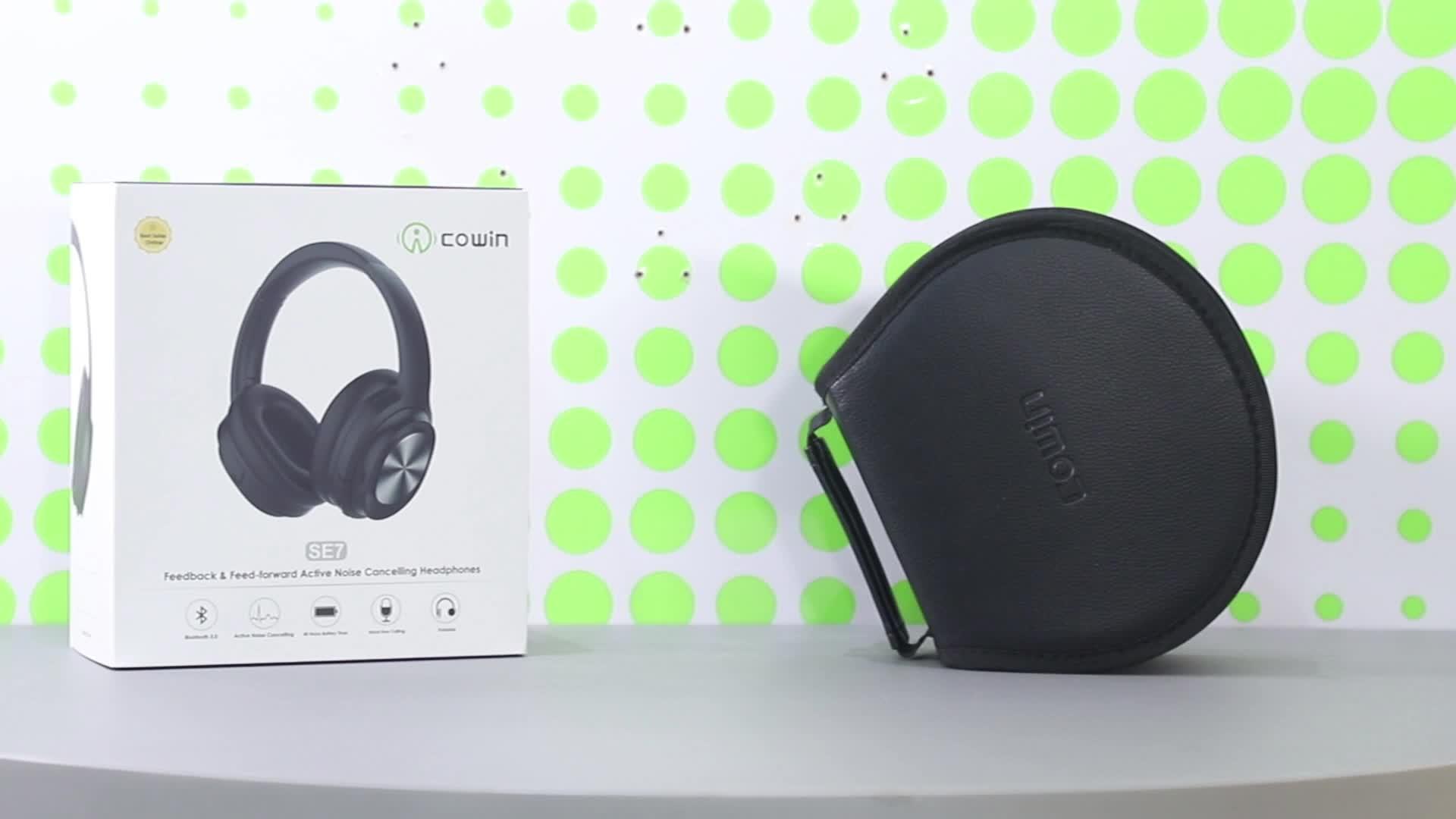 Cowin Lebih Murah Ditarik Atas Telinga Stereo Wireless Bluetooth Headset untuk Cell Phone