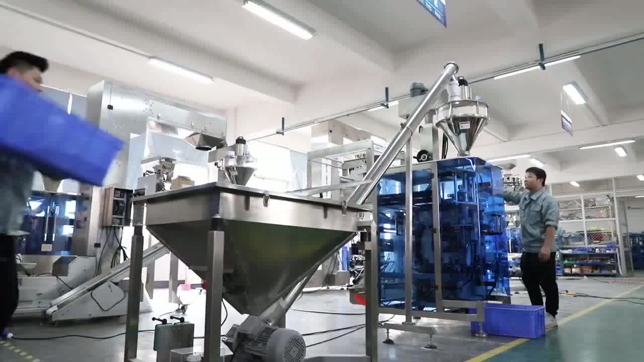 Automatic milk powder filling packing machine