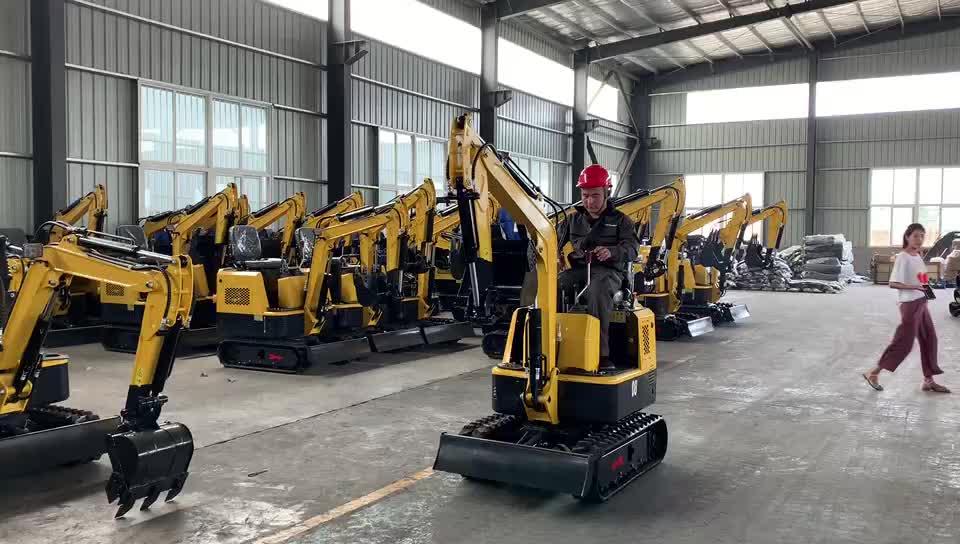 Cina produttore 1 ton mini digger piccolo escavatori in vendita