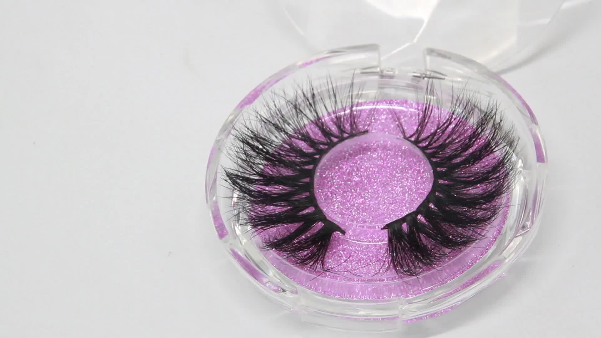 3D Mink Eyelashes With Custom eyelash packaging  Private Label Siberian Mink False Lashes Eyelashes Strips D112