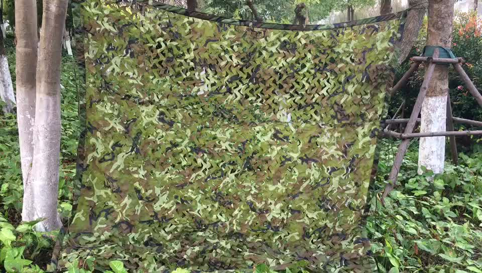 Wholesale hunting blind screen sunshade shelf net green camo net