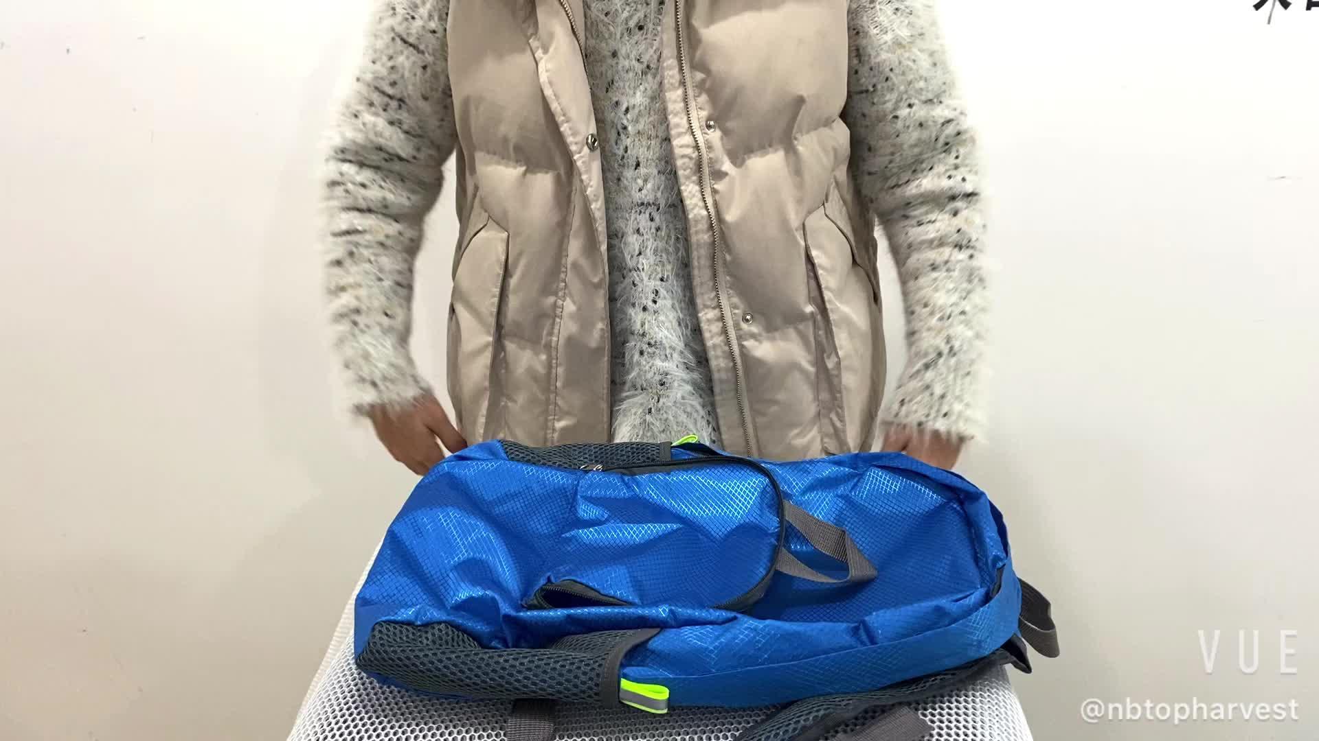 waterproof lightweight shopping folding backpack