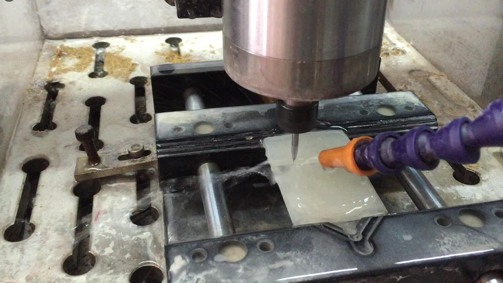 Cnc Router Steen Snijden En Polijsten Marmer Jade Graveren Graniet Cnc Machine