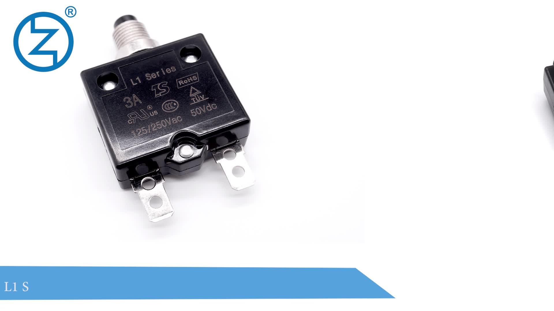 Reset Miniature Circuit Breaker St101e China Circuit Breaker