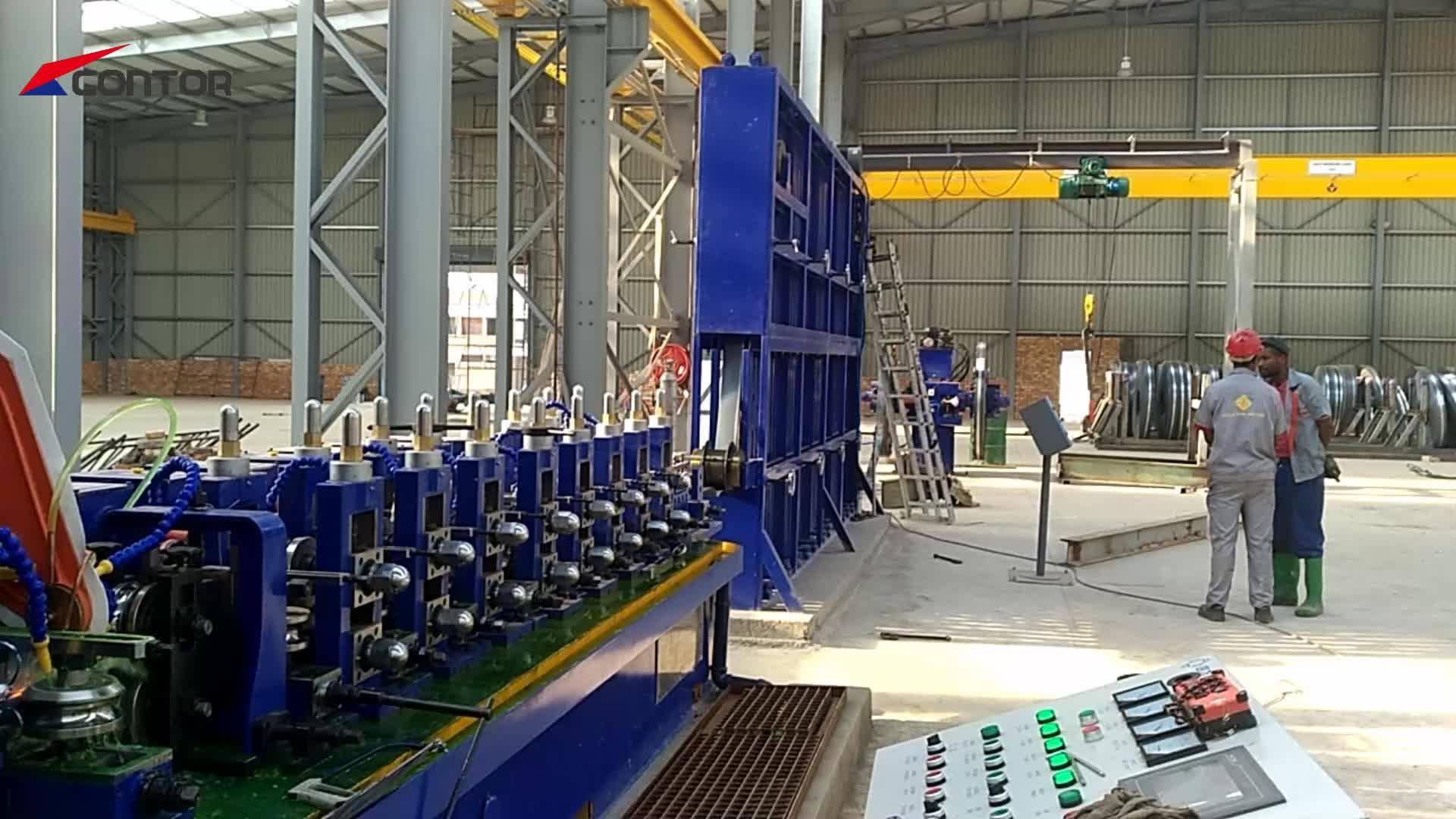 Metal kesme dairesel testere tüp kesme makinesi otomatik boru fabrikası uçan kesim testere