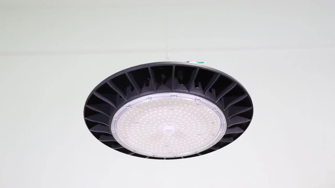 LUXINT LED Light Manufacturer UFO Series SMD 100W 120W 150W 200W Industrial LED High Bay Light for Indoor Lighting
