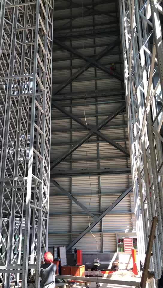 コールドルーム設計された積層した収納棚ラック