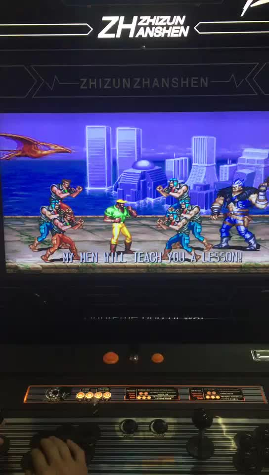 Arcade game console home arcade single street fighter portable fighting machines