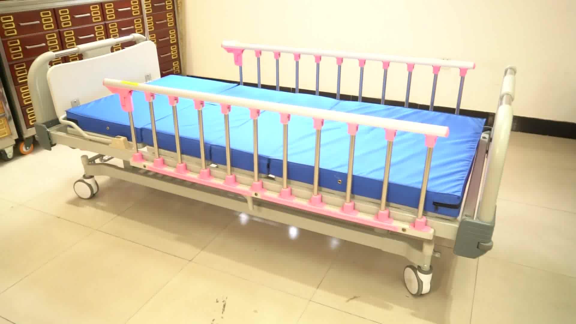 Two Folding mattress Manufacture Supply Modern Super Soft palm sponge Three Fold Mattress For Hospital Bed