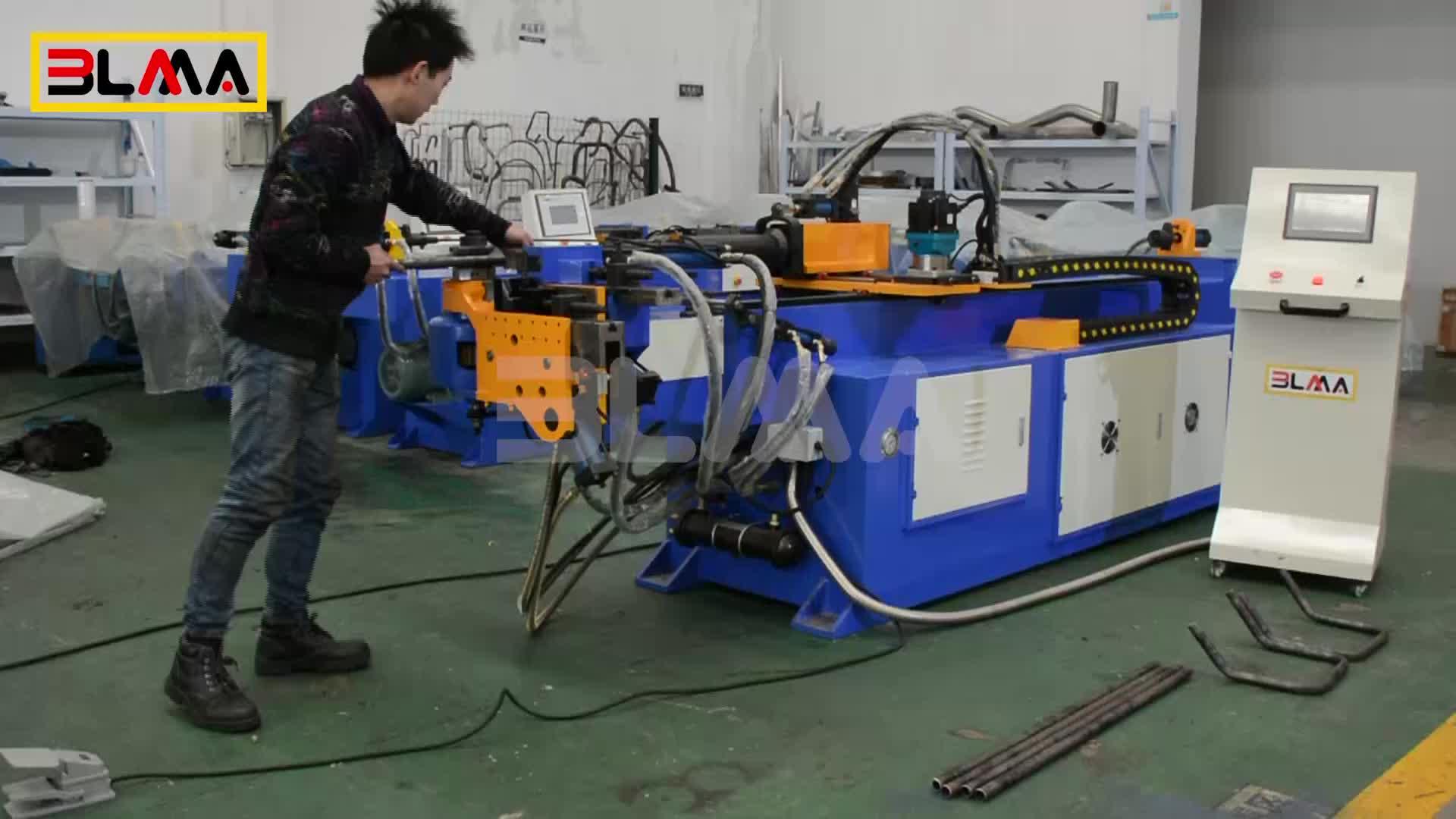 Koltuk Ağır Yatay CNC Mandrel Boru Bükme Makinesi Haddeleme Makinesi Yapımı