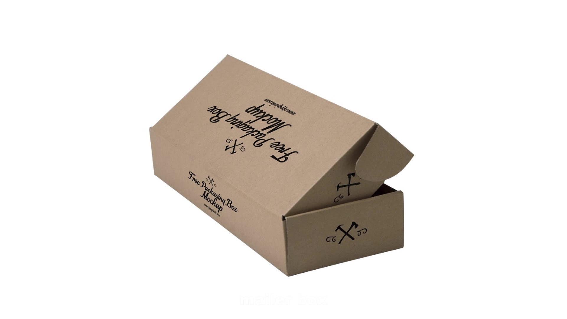 3 Lapisan Surat Paket Karton Putih Kotak Hadiah