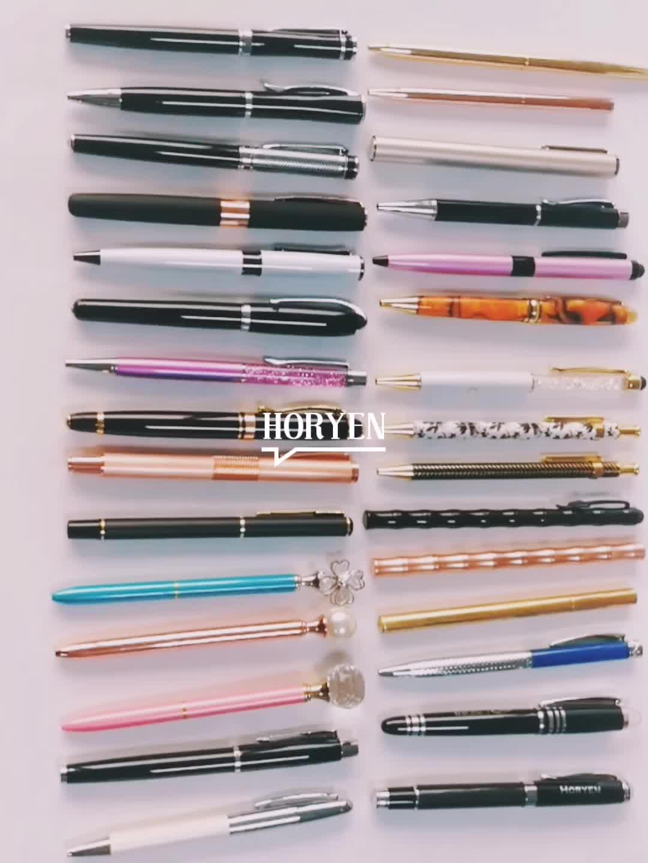 뜨거운 판매 비즈니스 선물 금속 롤러 펜
