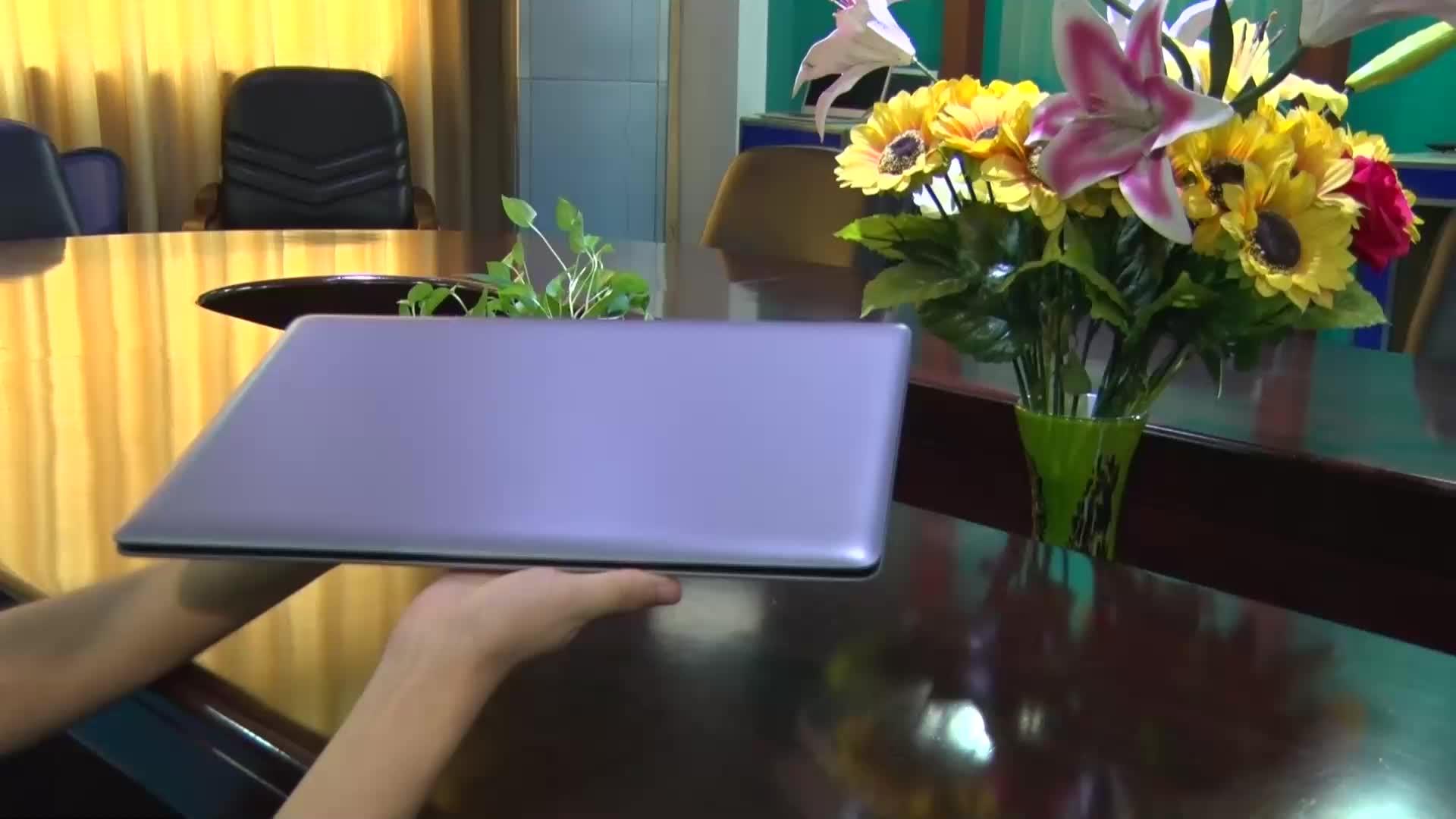 15.6 אינץ OEM אינטל מעבד core i7 8gb ultra slim משחקי משרד מחשב מחשב נייד