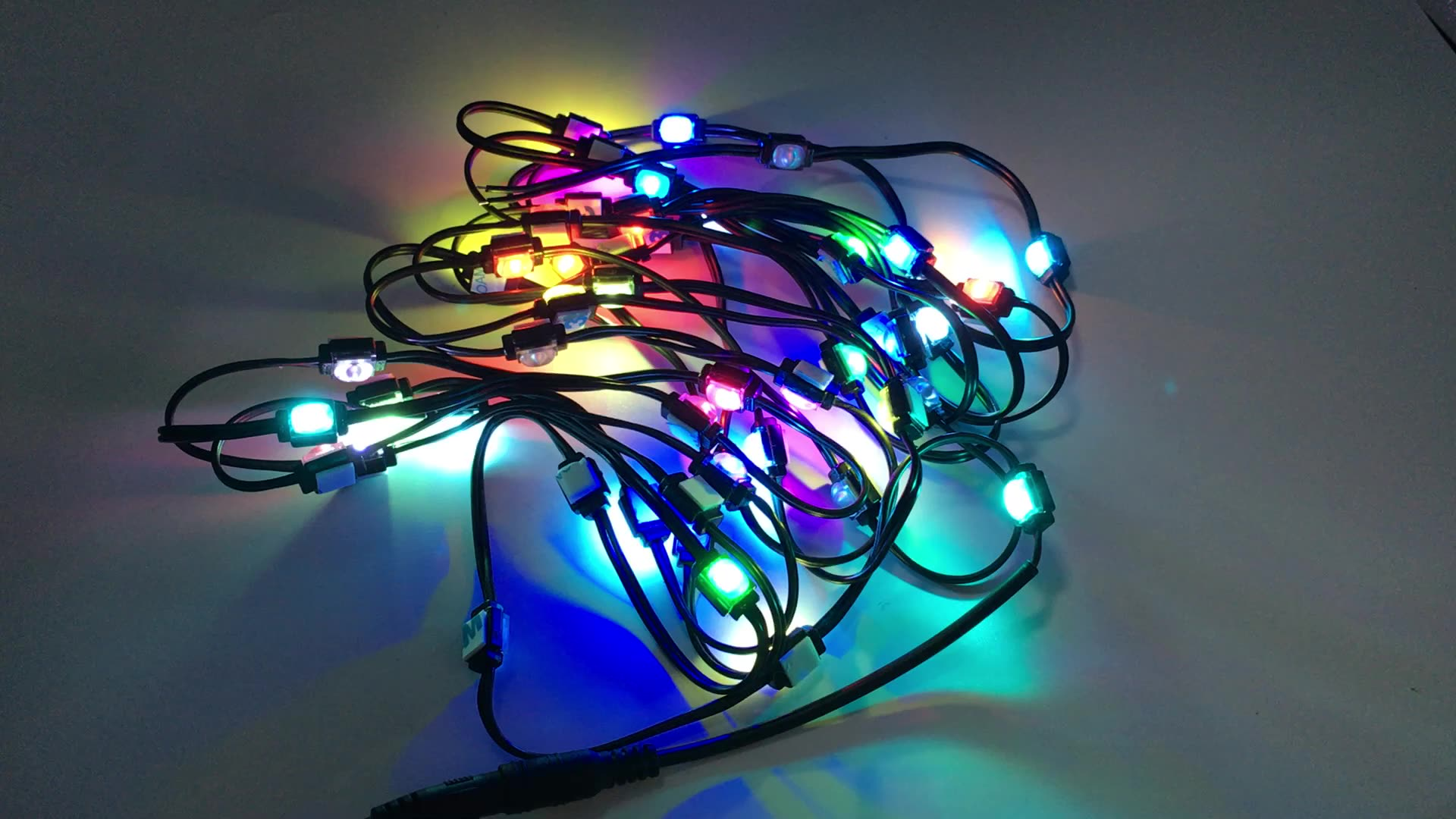 Holiday lights  LED Module RGB Flicker  color Changeable 0.25W 2835 waterproof IP65 12V Bar flashing led module