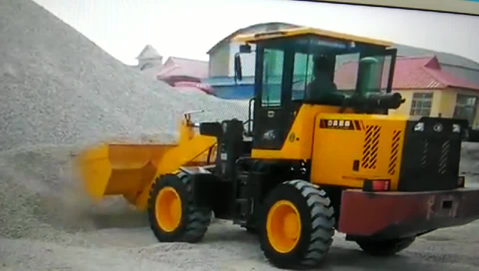 2.5T wheel loader from factory in stock