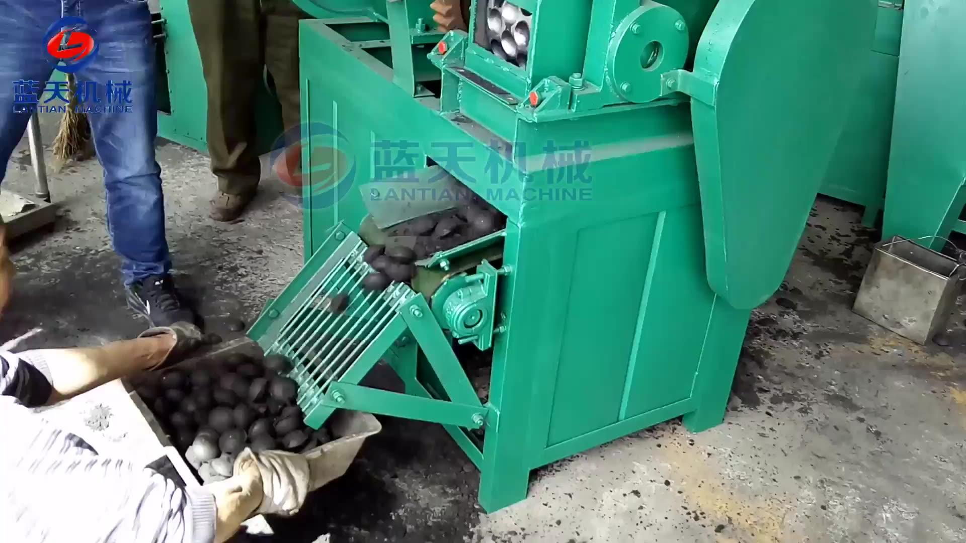 المصنع مباشرة شواء الفحم ماكينة تصنيع قوالب الفحم الحجري خط الانتاج