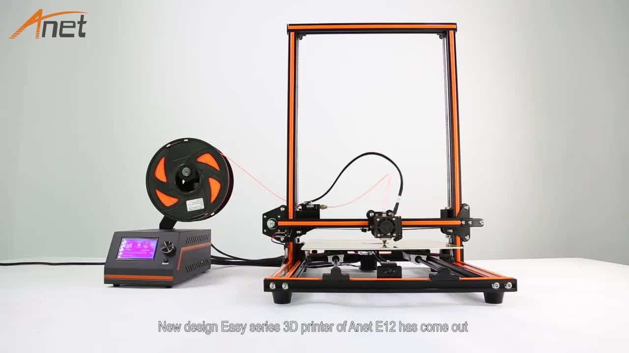 Anet LCD High precision 0.4mm nozzle diameter industrial 3d printer for architecture