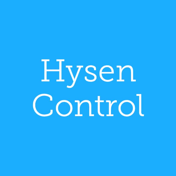 Hysen UK Double Temperature Display Room Air Conditioning Thermostat