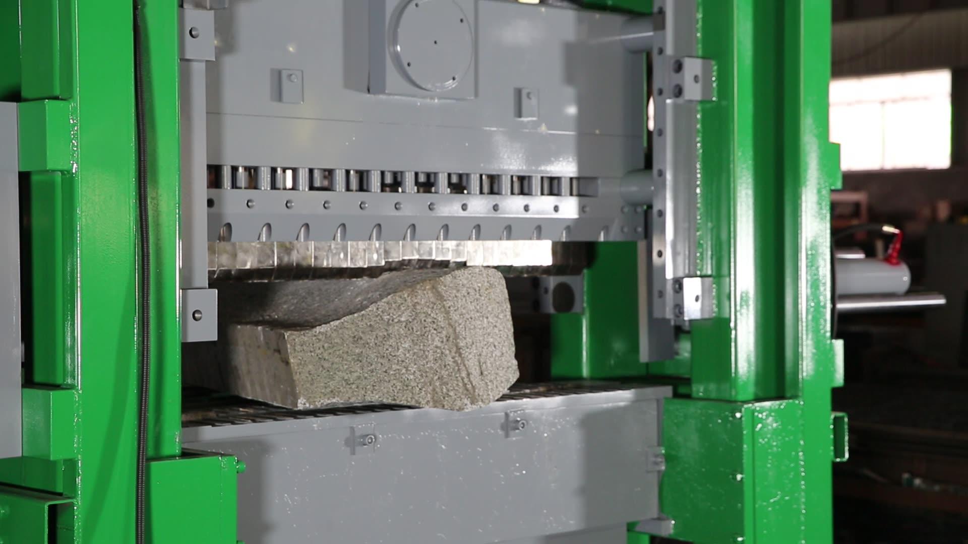 Stone Splitter Hydraulic Stone Splitting Machine for Cube Stone and Split Walling Tiles