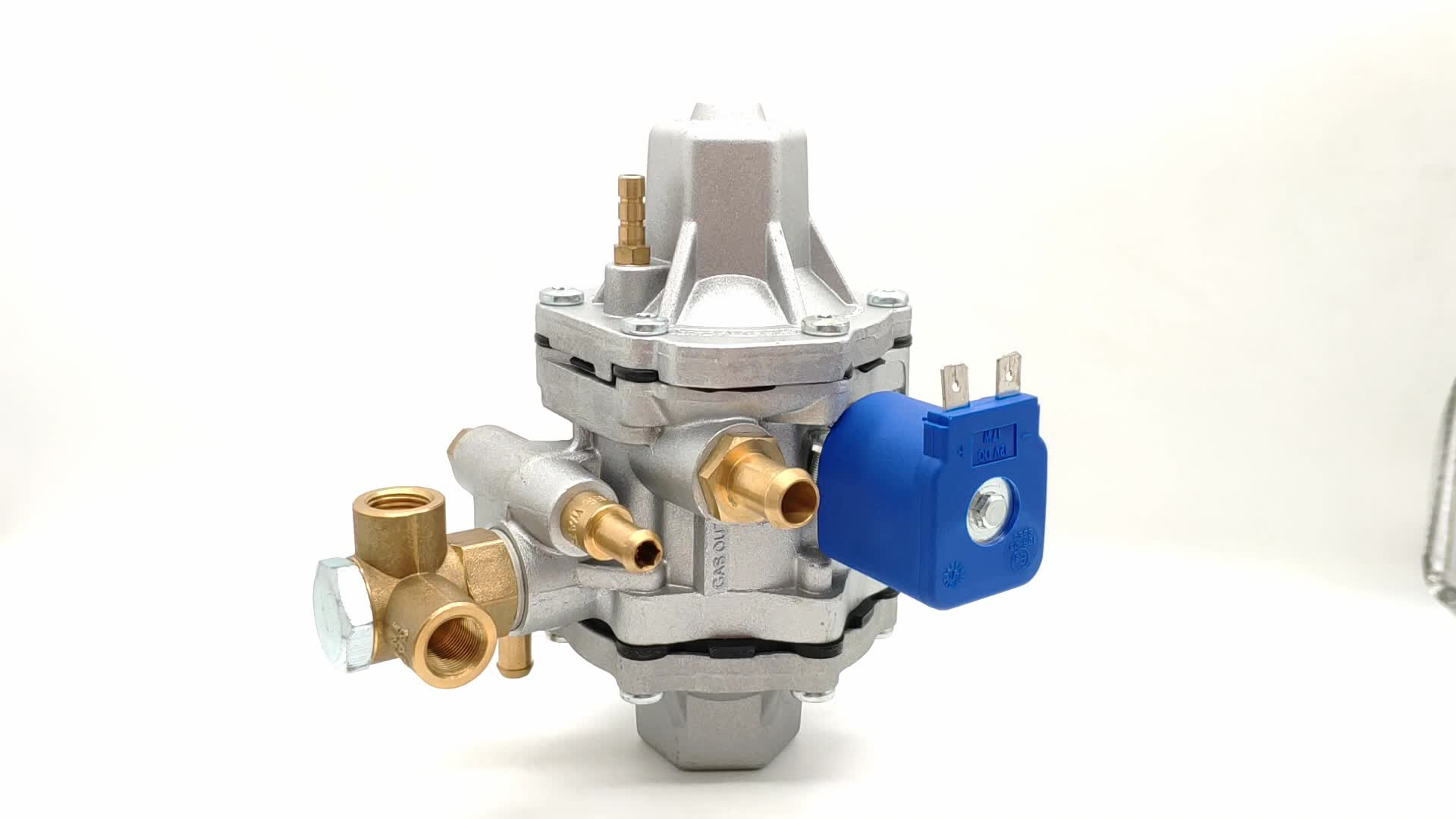CNG sequential injection system reducer/cng auto parts reducer/regulator for gas conversion kits