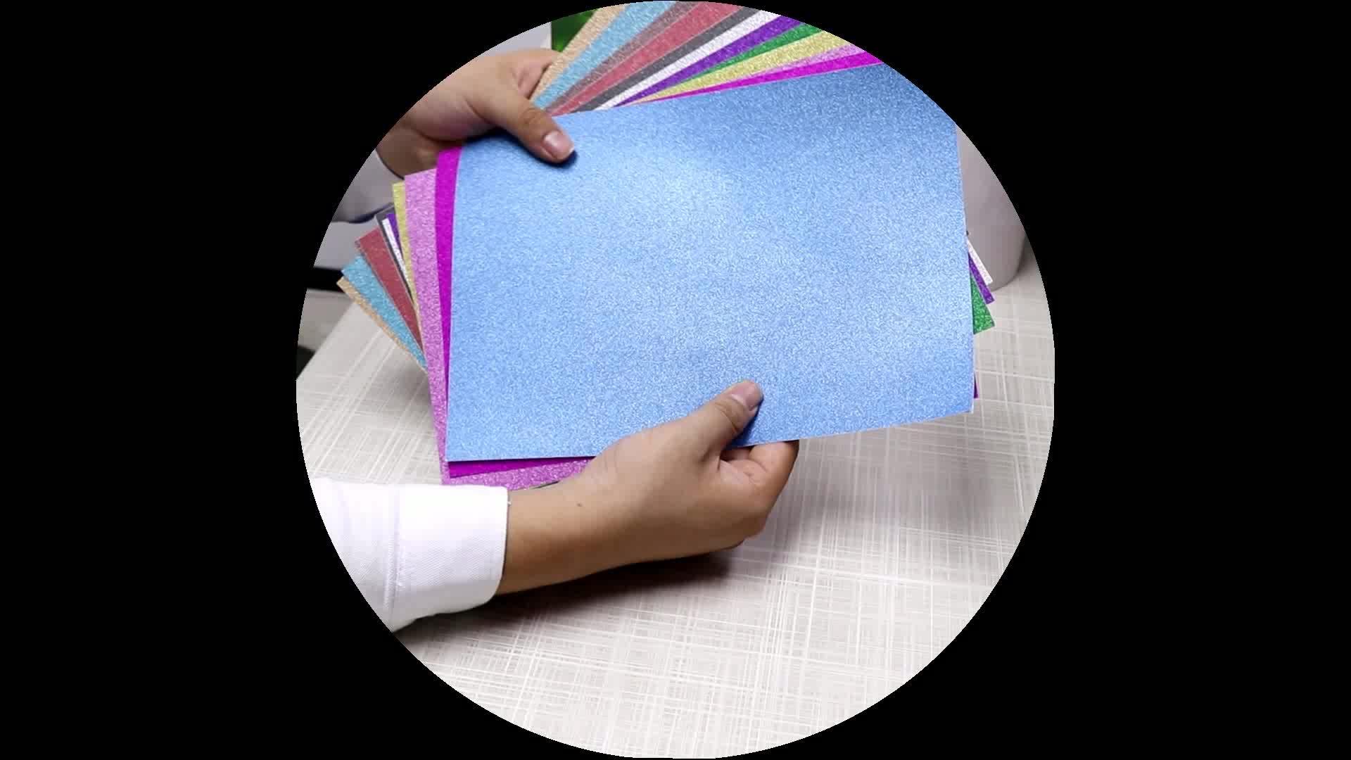 DIY Blue Red Gold Black Glitter Paper sticker sale adhesive
