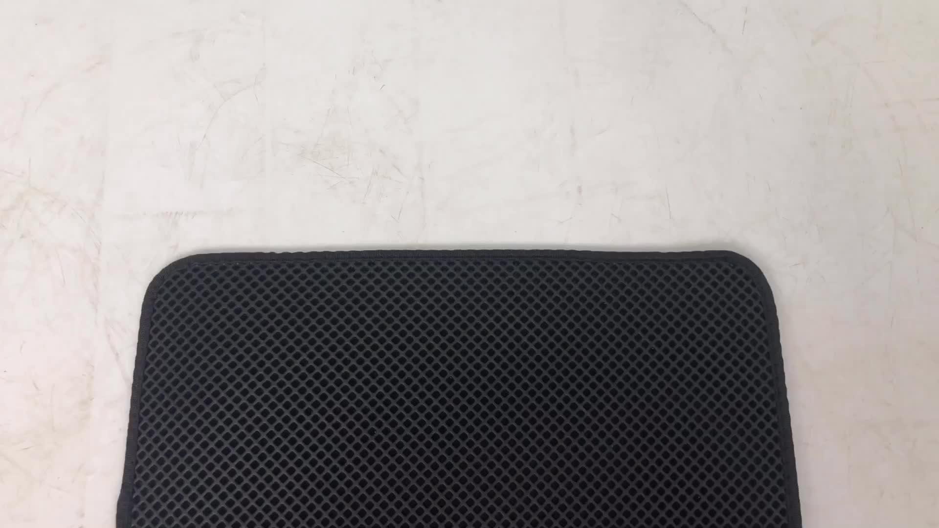 Mydays カスタム Eva 二重層猫砂トラッパーマットを保護するための床とカーペット