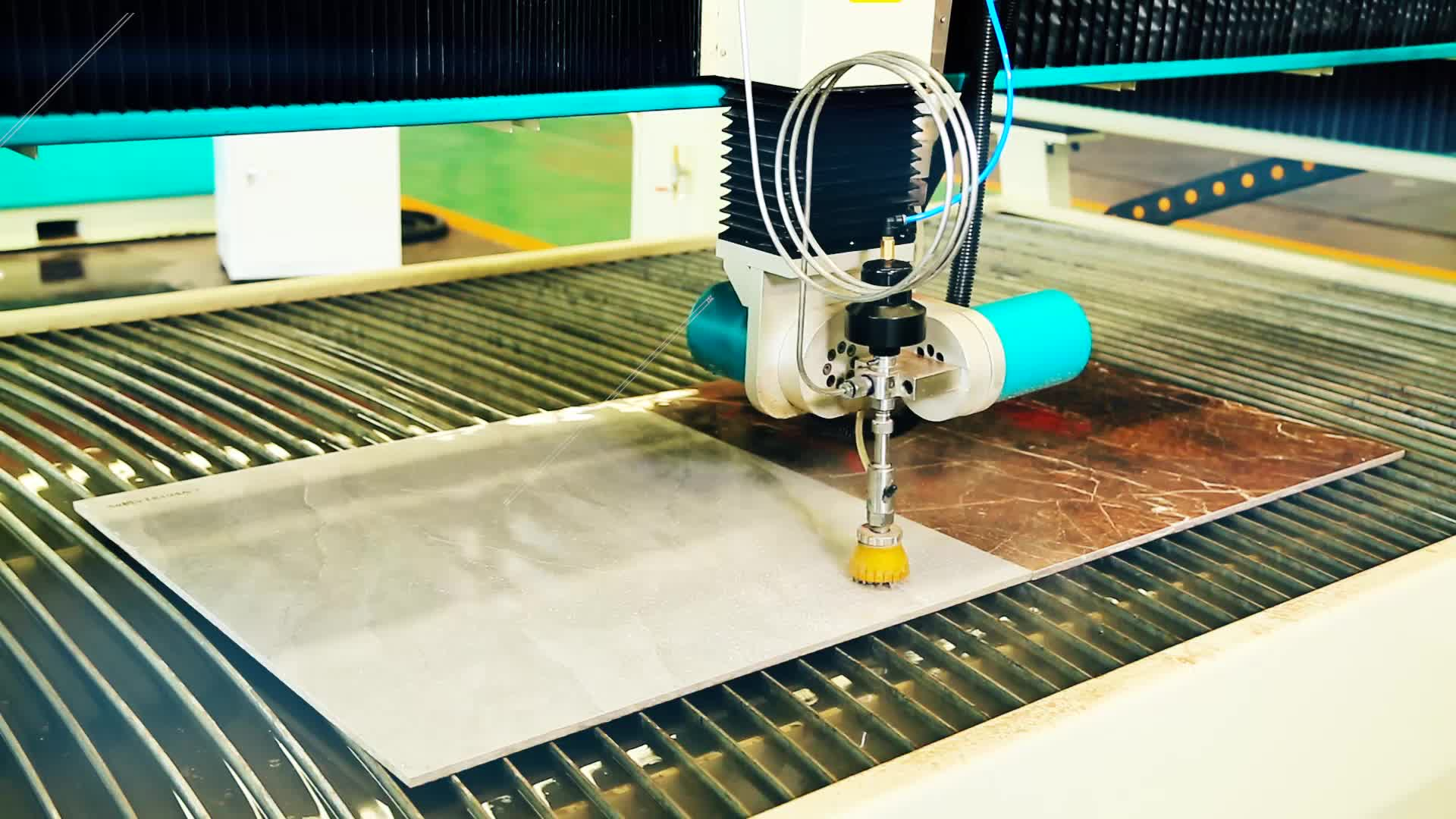 waterjet cutting machine for marble mosaic and granite tile
