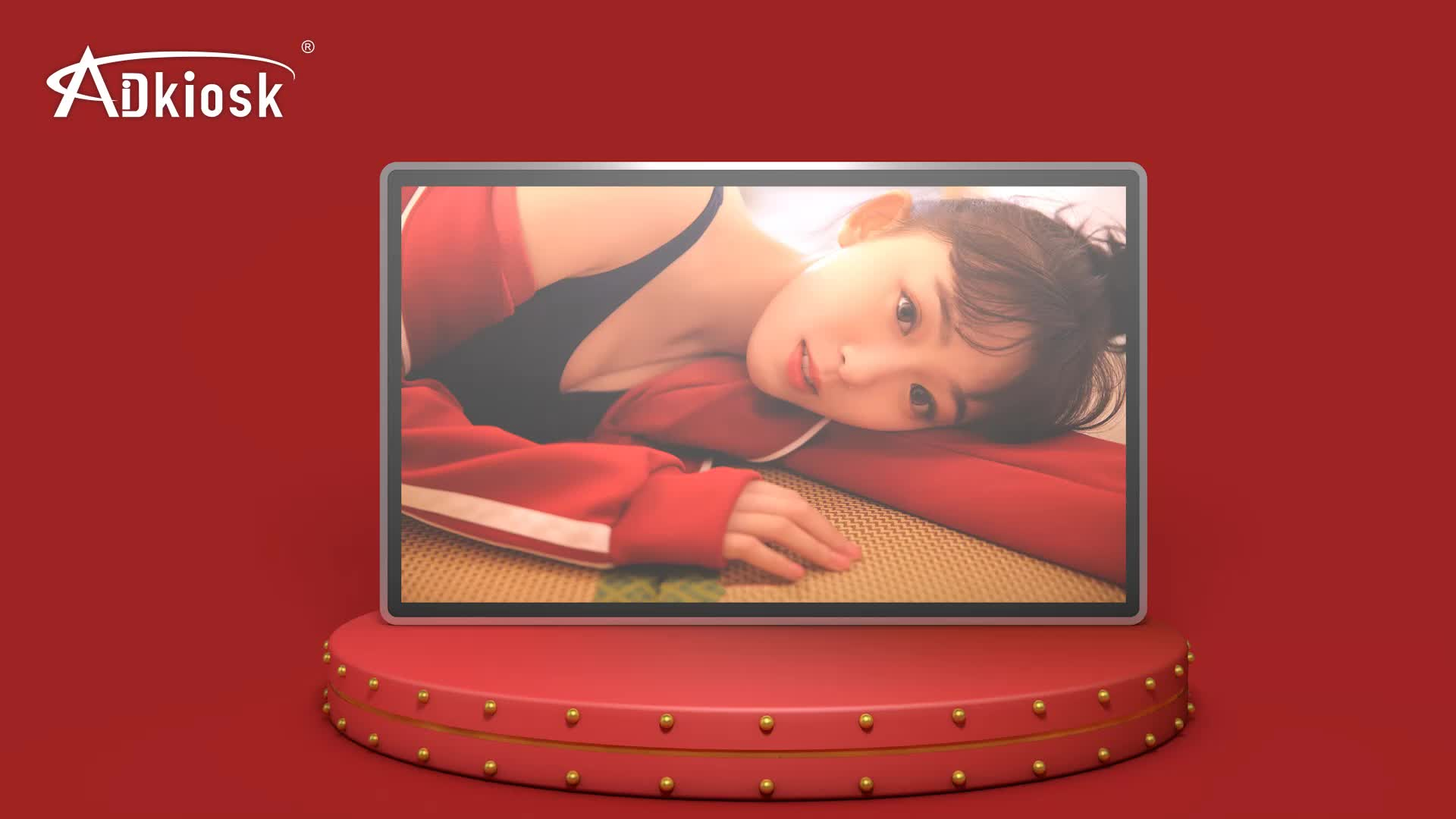 hot! 32inch lcd advertising tv screens wifi android media video player