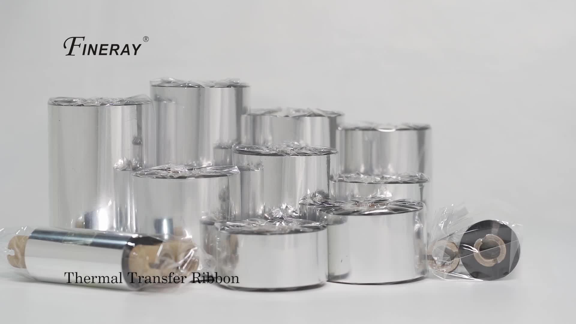 Fineray 熱転写リボン大手メーカー YD 106 ワックス TTR