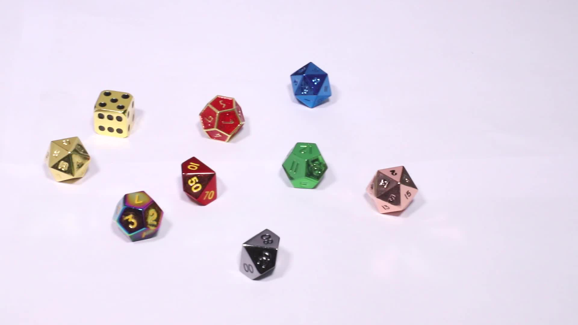 Custom 6 sided enamel game dice wholesale metal sexy dice