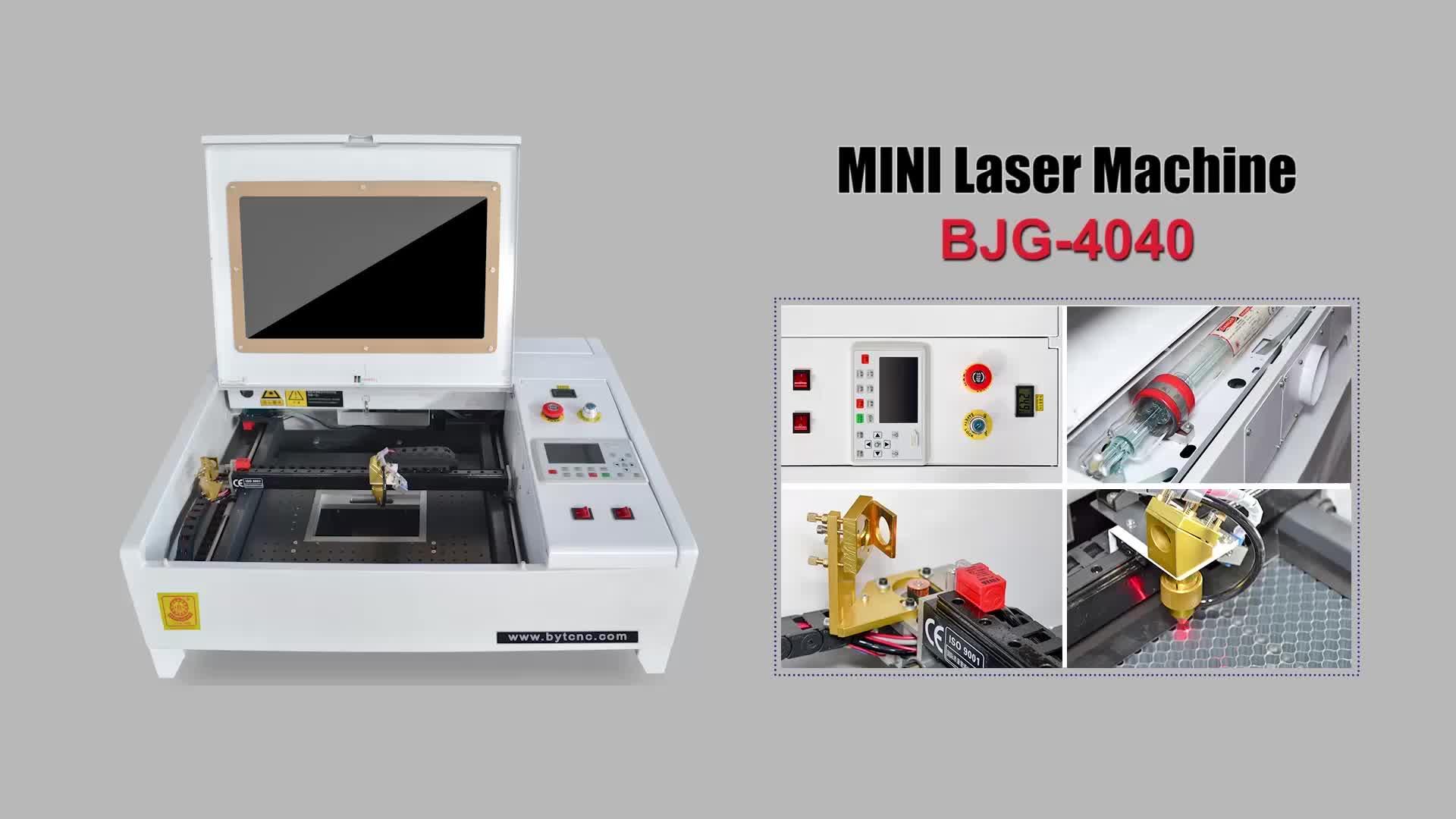 CNC 40W 50W Nhỏ Nhỏ CO2 Laser Engraver Máy Cắt Cho Diy Kính Acrylic MDF Pha Lê Gỗ Đá con Dấu Cao Su Khắc