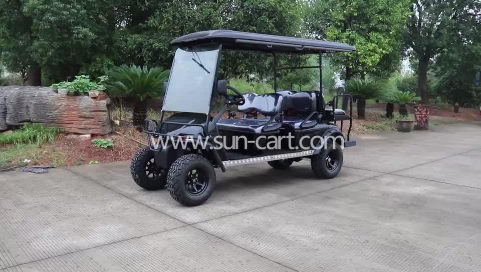 Mini-Design 2 elektrische Golfwagen mit guter Qualität, Club-Car-Stil Golfwagen