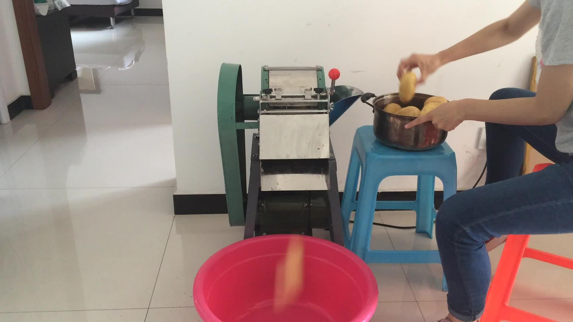 Machine automatique de déchiquetage de légumes de carotte de trancheuse de pomme de terre électrique