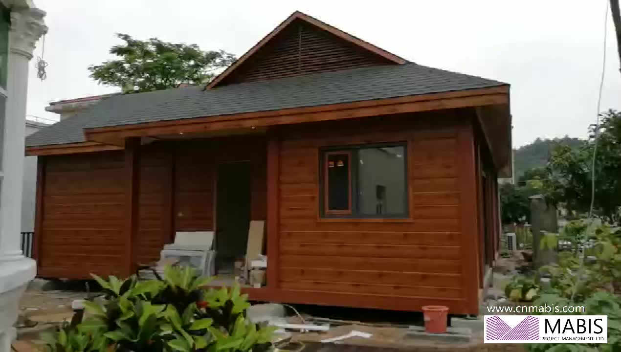 Two bedrooms modern design quick build prefabricated building houses
