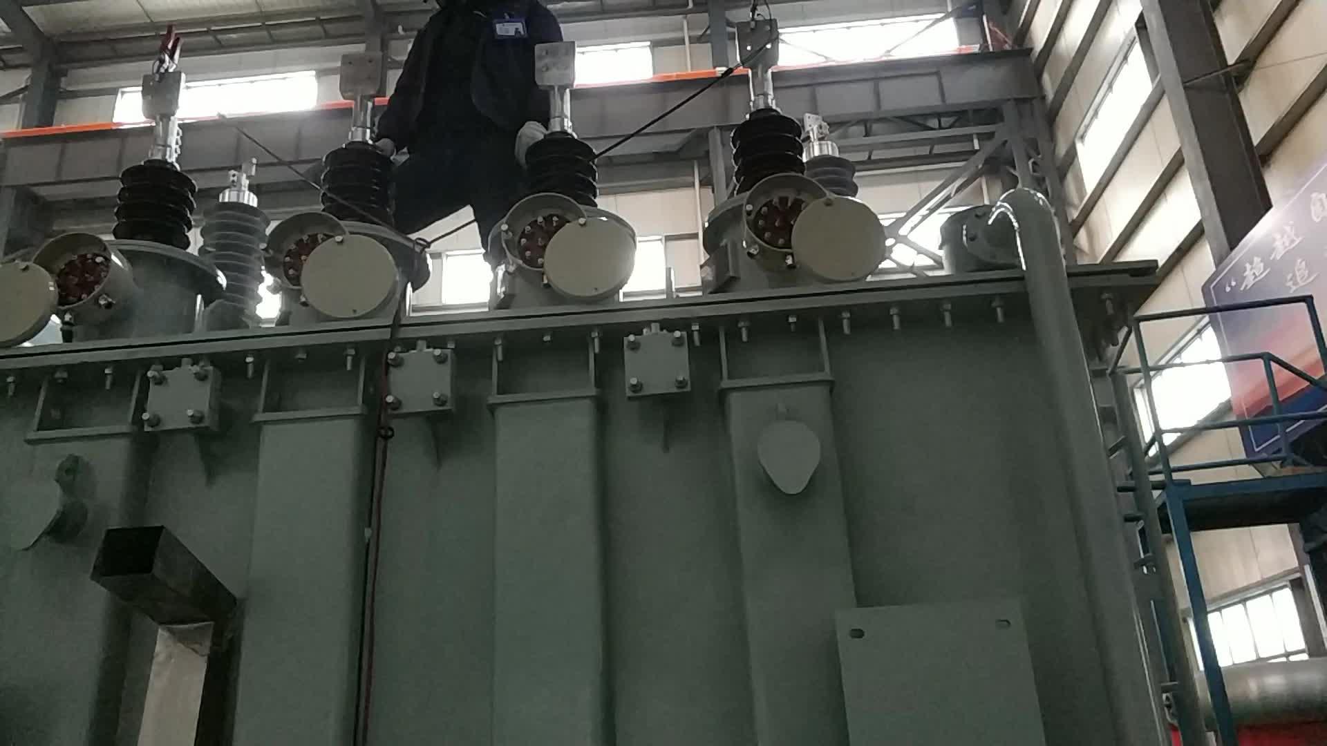 180mva 500kv חשמלי כוח שנאי