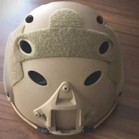ABS SCHNELLE PJ Tactical Airsoft Helm Multicam