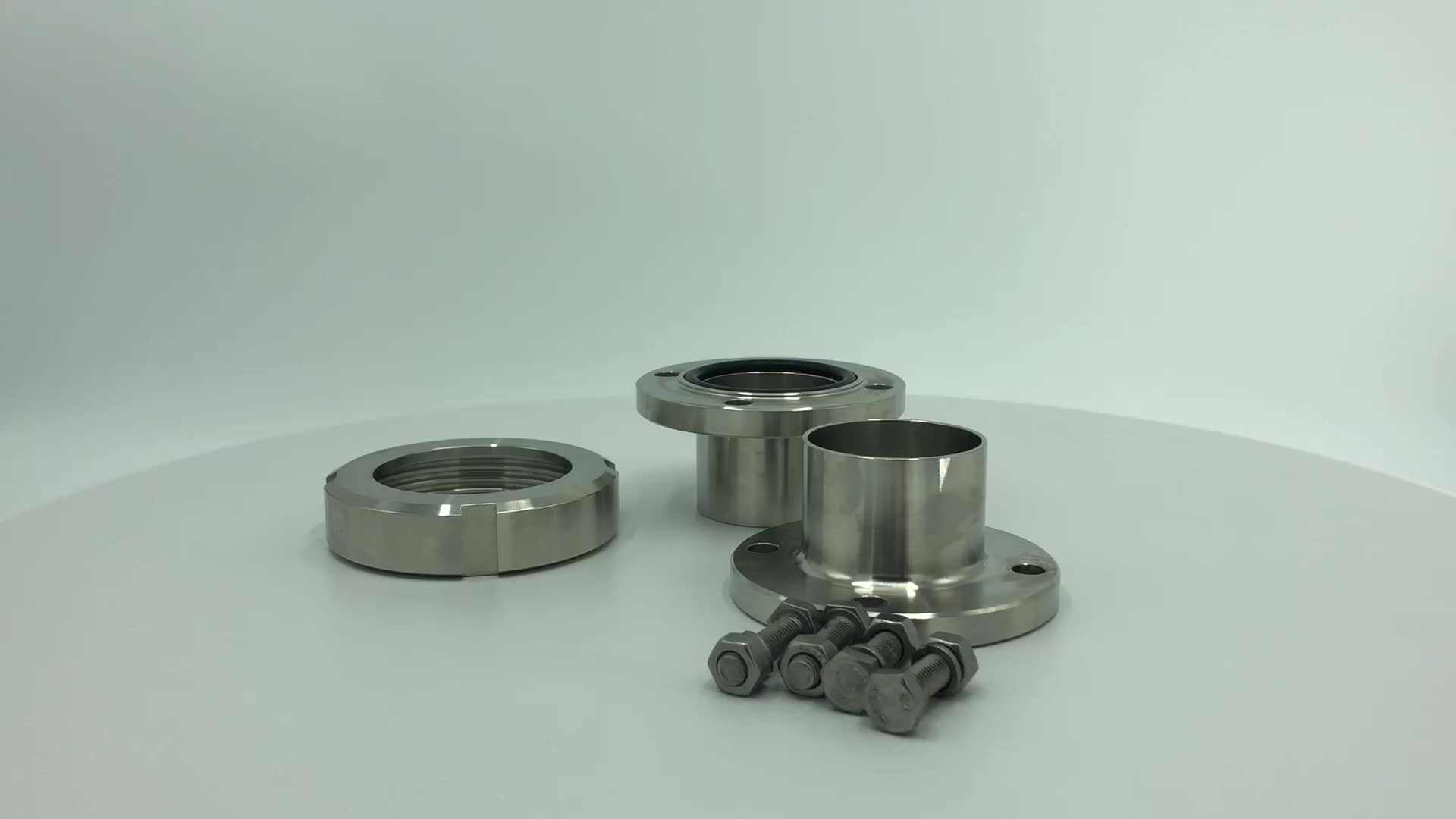 DONJOY stainless steel Sanitary clamp union