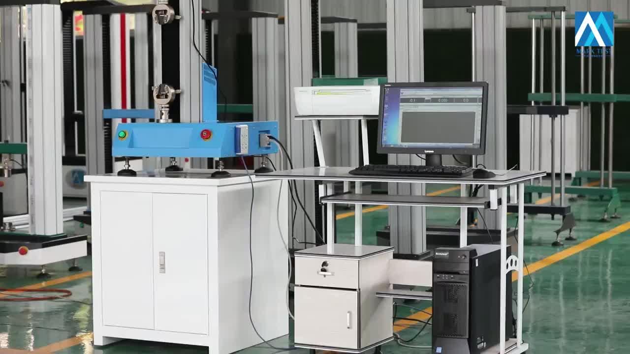 100N 200N 500N 1KN 2KN 3KN 5KN Einzelnen Spalte Digital Display Kunststoff Gummi Zugversuch Maschine Tester