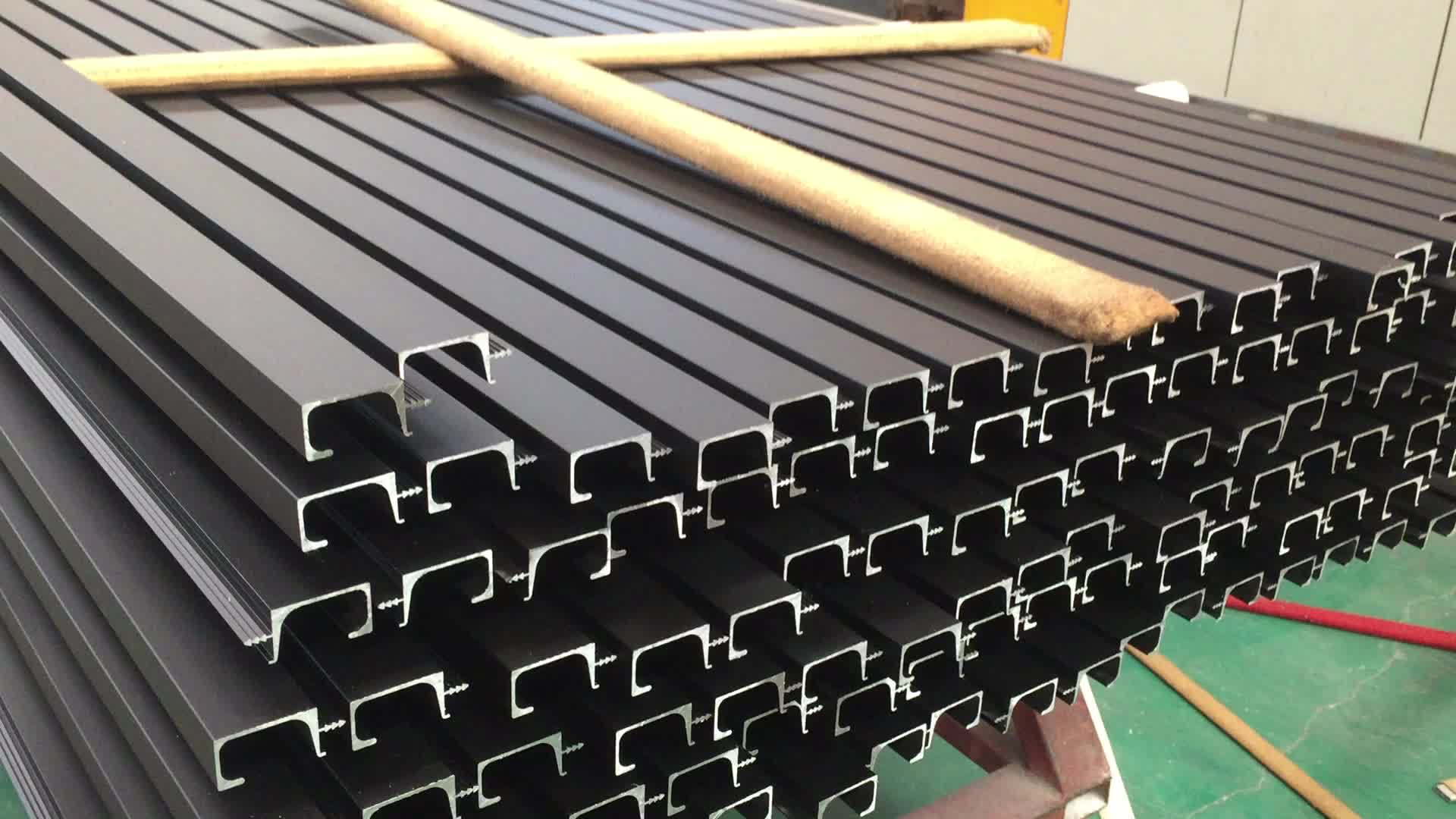 Semicircle Aluminum Profile C Shaped Half Round Shape C Channel Aluminium Extrusion